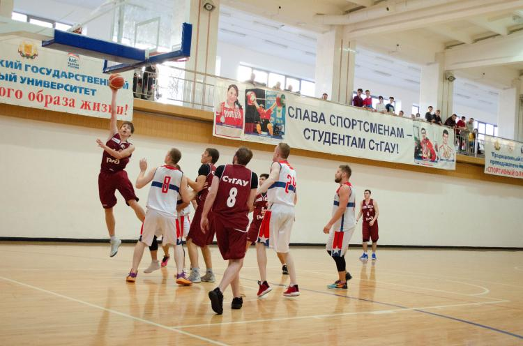 The next round of the Championship of the Stavropol Territory among men's basketball teams