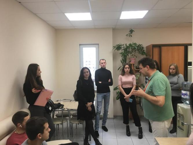 "PJSC ""Rostelecom"" conducted a tour for students of the Stavropol State Agrarian University"