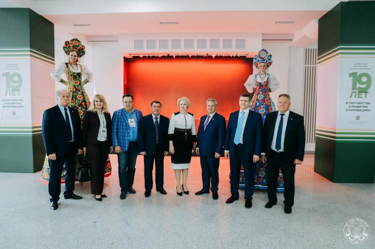 Birthday of the strategic partner of the Stavropol State Agrarian University of the regional branch of Rosselkhozbank JSC