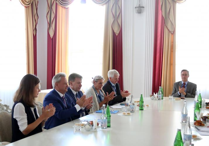 "On the basis of the Stavropol State Agrarian University, the International Scientific Conference ""Transformation of the soil cover and new farming systems of Russia and Switzerland as a path to the transition to organic agriculture"" was held"